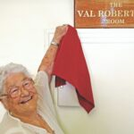 A fitting tribute to Val Robertson as museum room is named in her honour.
